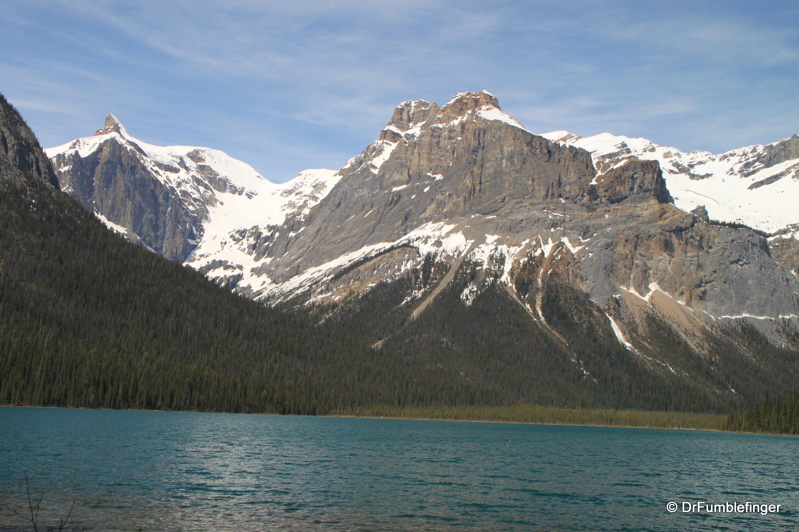 Emerald Lake, view of North Shore