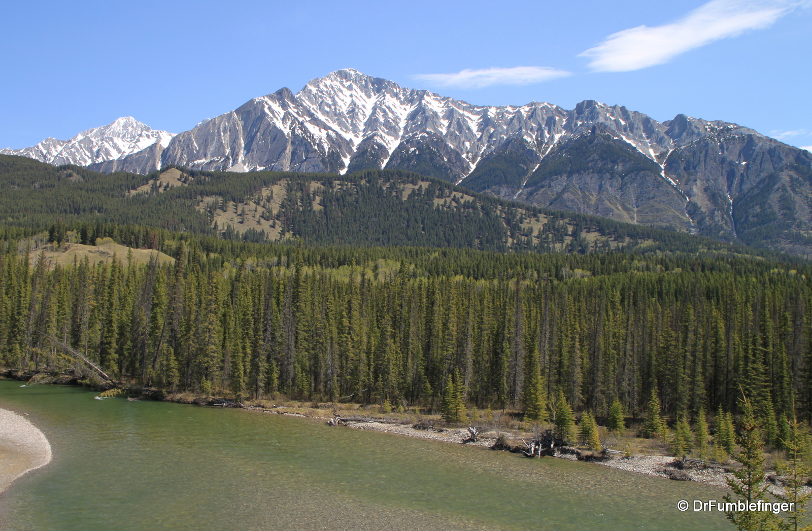 Bow River Valey