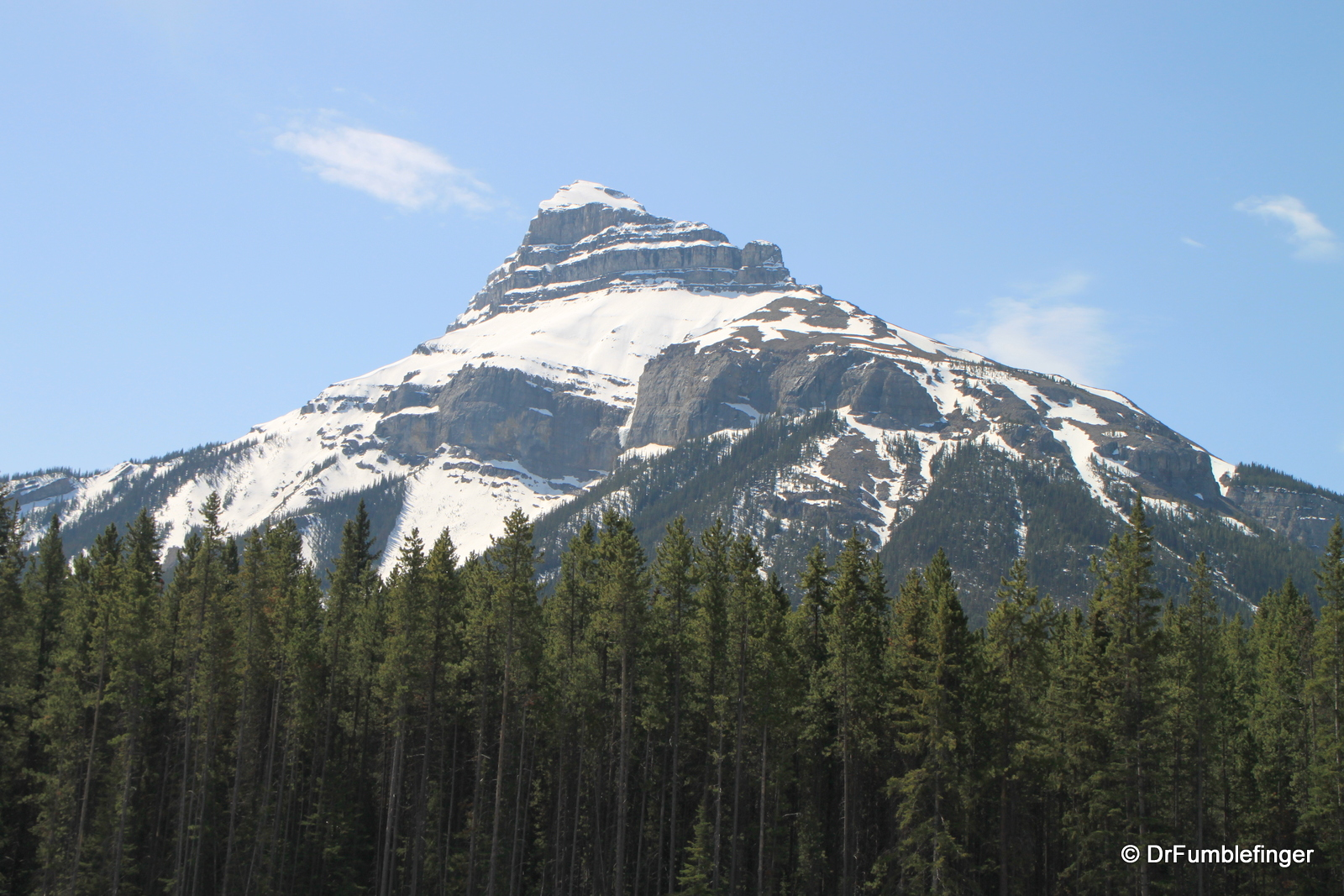 Mountain, Bow River Valley
