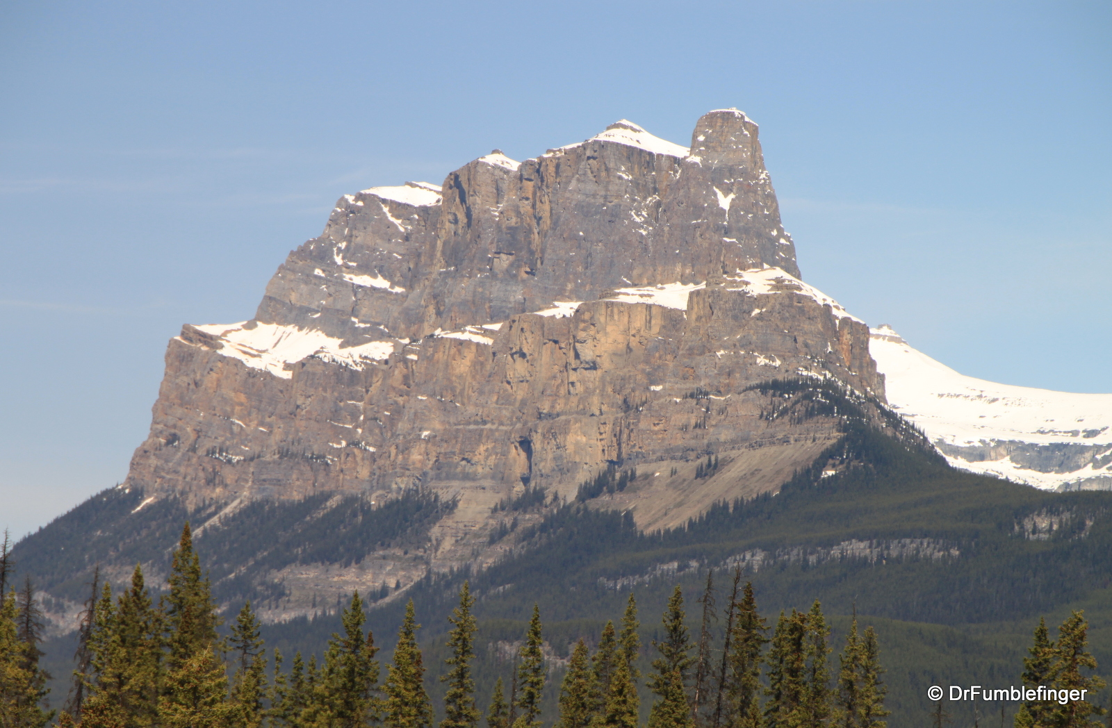 Castle Mountain, Bow River Valley