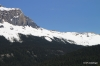 Snowy ridge is where Burgess Shale lies