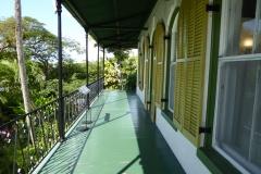 Second floor balcony,  Ernest Hemingway Home, Key West