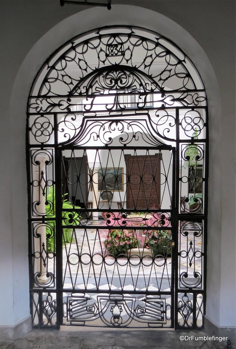 Courtyard in Barrio Santa Cruz, Seville