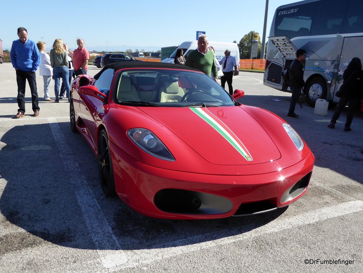 Ferrari, near Venice