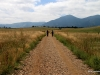 Flatiron Vista Loop Trail, through the praires with Rocky Mountain views