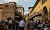 Ponte Vecchio foot traffic
