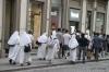 Nuns walking in Florence