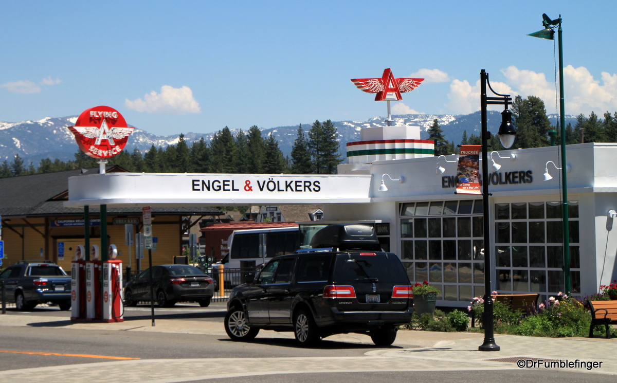 Flying A Service Station, Truckee