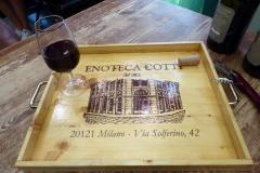Milan Food Tour, Brera neighborhood. Enoteca Cotti