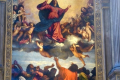 The Assumption  by Titian, Frari Church, Venice
