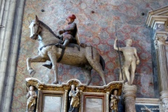Equestrian monument to Paolo Savelli, Frari Church, Venice