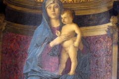 Bellini's Madonna and Child, Frari Church, Venice