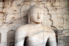 Gal Vihara, Sitting Image