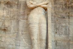 Gal Vihara, Standing Image