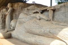 Gal Vihara, Recumbant Image
