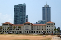 Galle Face Hotel viewed from the Galle Face Green, Colombo