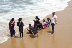 Family fun on the Indian Ocean at the Galle Face Green, Colombo
