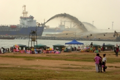 Building a Marina, Galle Face Green, Colombo