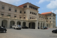Main Entrance to the Galle Face Hotel