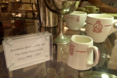 Old artefacts, Galle Face Hotel