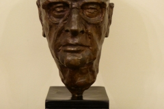 Arthur C. Clarke bust, Galle Face Hotel Library