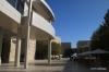Getty Center central courtyard