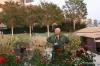 Getty Center -- brother Richard, Central Garden