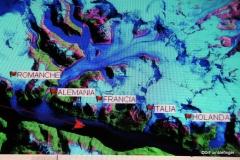 Map of Glacier Alley