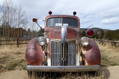 Old Fire Truck, Gold Hill