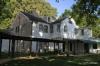 Back view of Graceland mansion