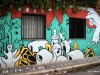 Street art in Palermo. Looks like something by Dr. Seuss