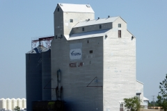 Traditional grain elevators, Moose Jaw, Saskatchewan