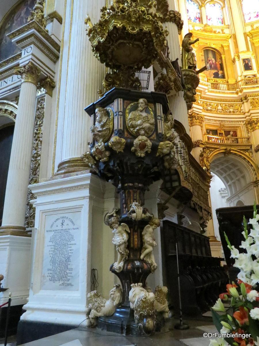 Interior, Granada Cathedral