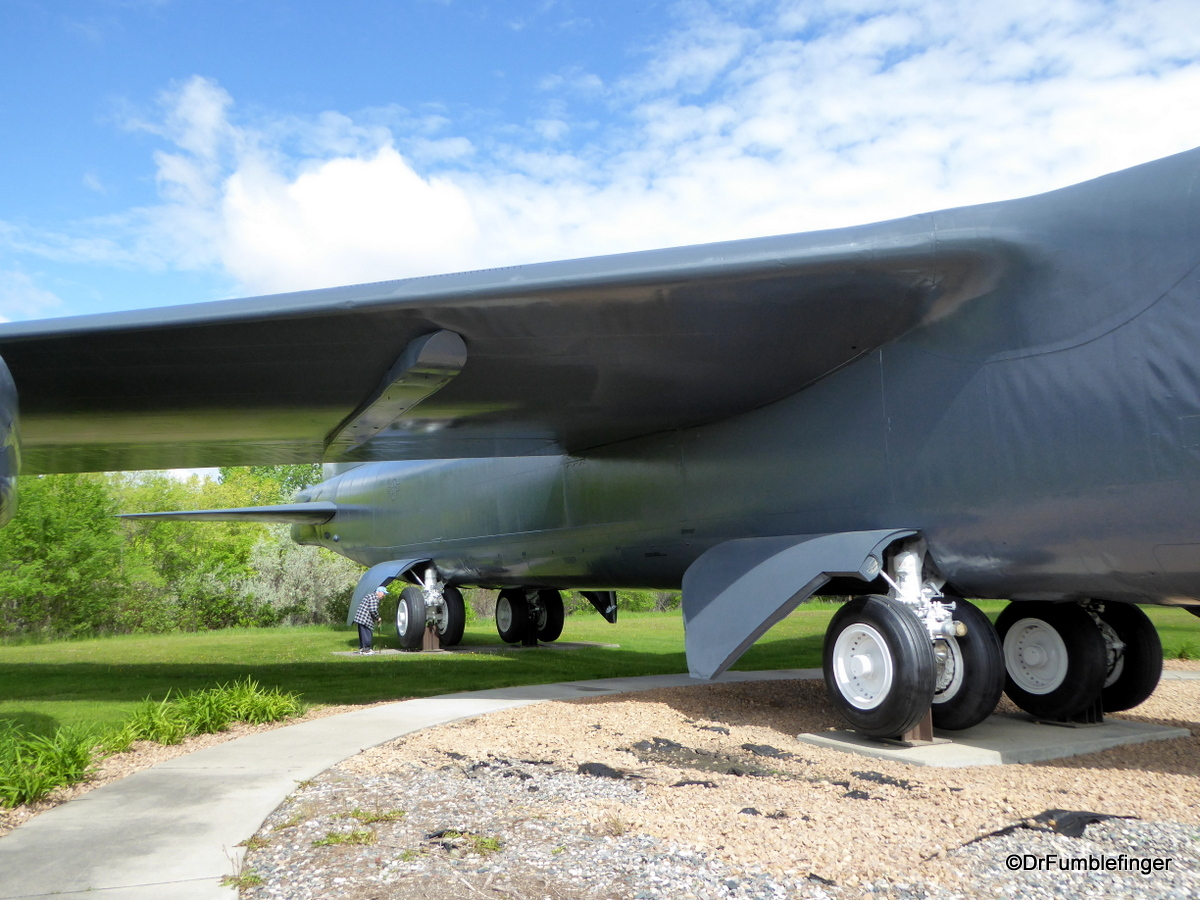 Grand Forks Air Force Base B52 G Stratofortress