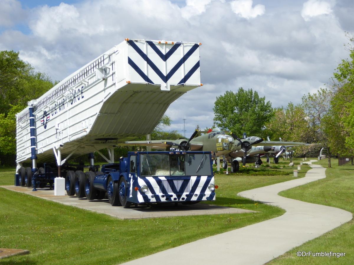Grand Forks Air Force Base. Missile Transporter Erector