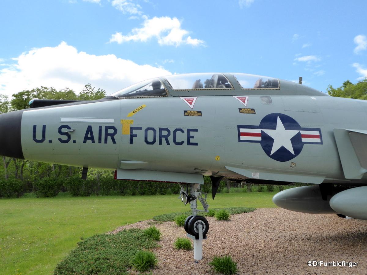 Grand Forks Air Force Base (F-101 VooDoo)