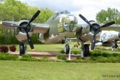 Grand Forks Air Force Base B25J Flo