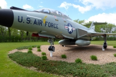 Grand Forks Air Force Base (F-101 VooDoo)