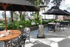 Restaurant Patio, Grand Hotel, Nuwara Eliya