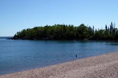 Grand Marais beach