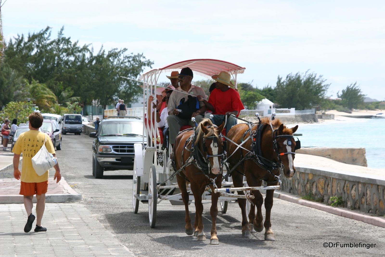 Horse-drawn carriage, Grand Turk