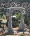 Antler archway, ranch