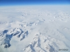 Views of Greenland ice cap from our airplane