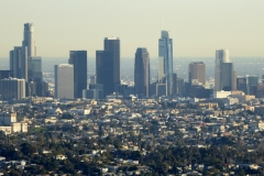 Views of Downtown from the Griffith Observatory