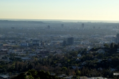 Views of Century City and Palos Verdes from the Griffith Observatory