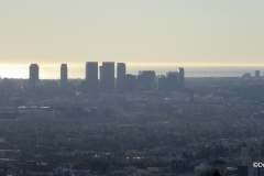 Century City, as viewed from the Griffith Observatory