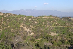 Santa Monica Mountains, viewed from the Griffith Observatory