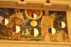 Art Deco details, Griffith Observatory