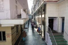 Approaching the Gurdwara Sis Ganj Sahib, Delhi
