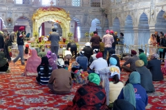 Worship Hall, Gurdwara Sis Ganj Sahib, Delhi